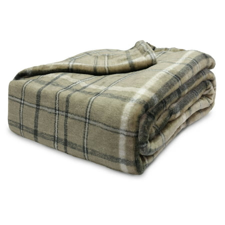 Better Homes & Gardens Oversized Velvet Plush Throw Blanket, 50