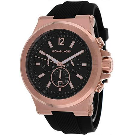Men's Dylan Chronograph Black Dial Watch (Chronograph Gunmetal Dial Watch)
