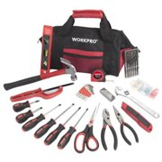 WorkPro 164663 Tools & Bag, 40-Pc. Set - Quantity 1