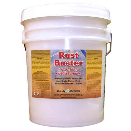 Rust Buster Commercial Heavy-Duty Rust Stain Remover - 5 gallon