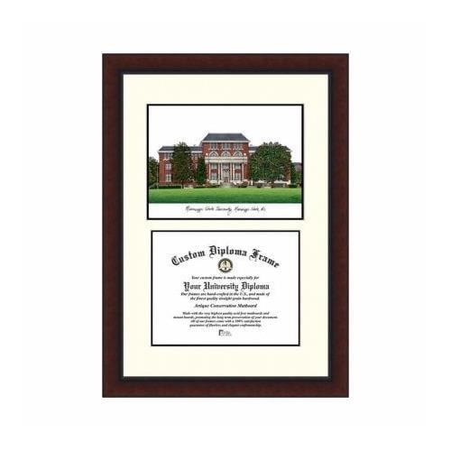 "Mississippi State 8.5"" x 11"" Legacy Scholar Diploma Frame"