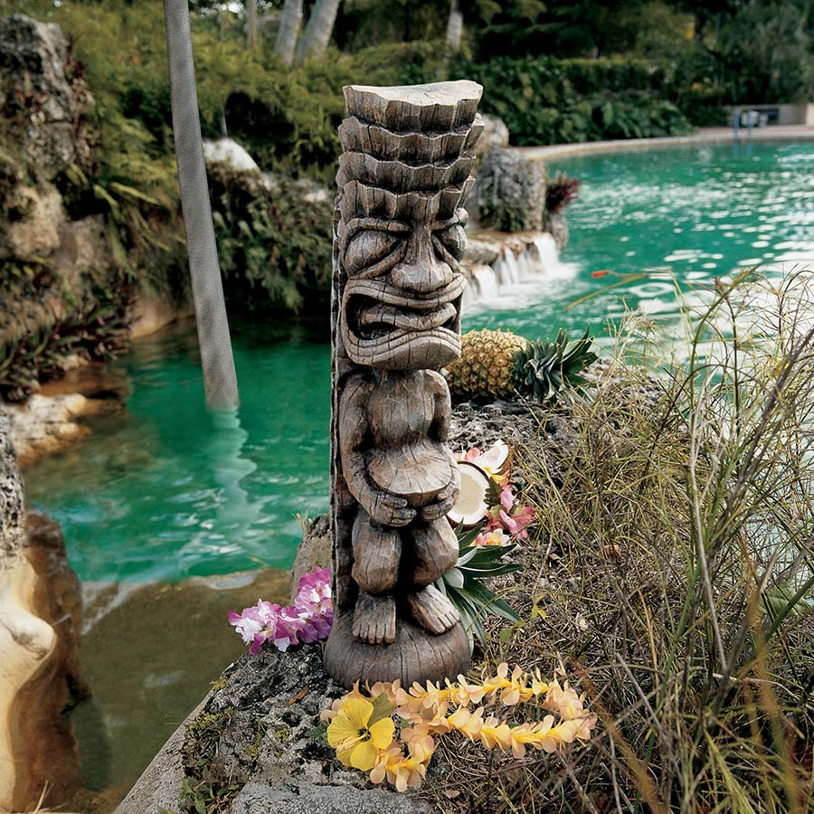 Design Toscano The God of the Luau Tiki God Statue