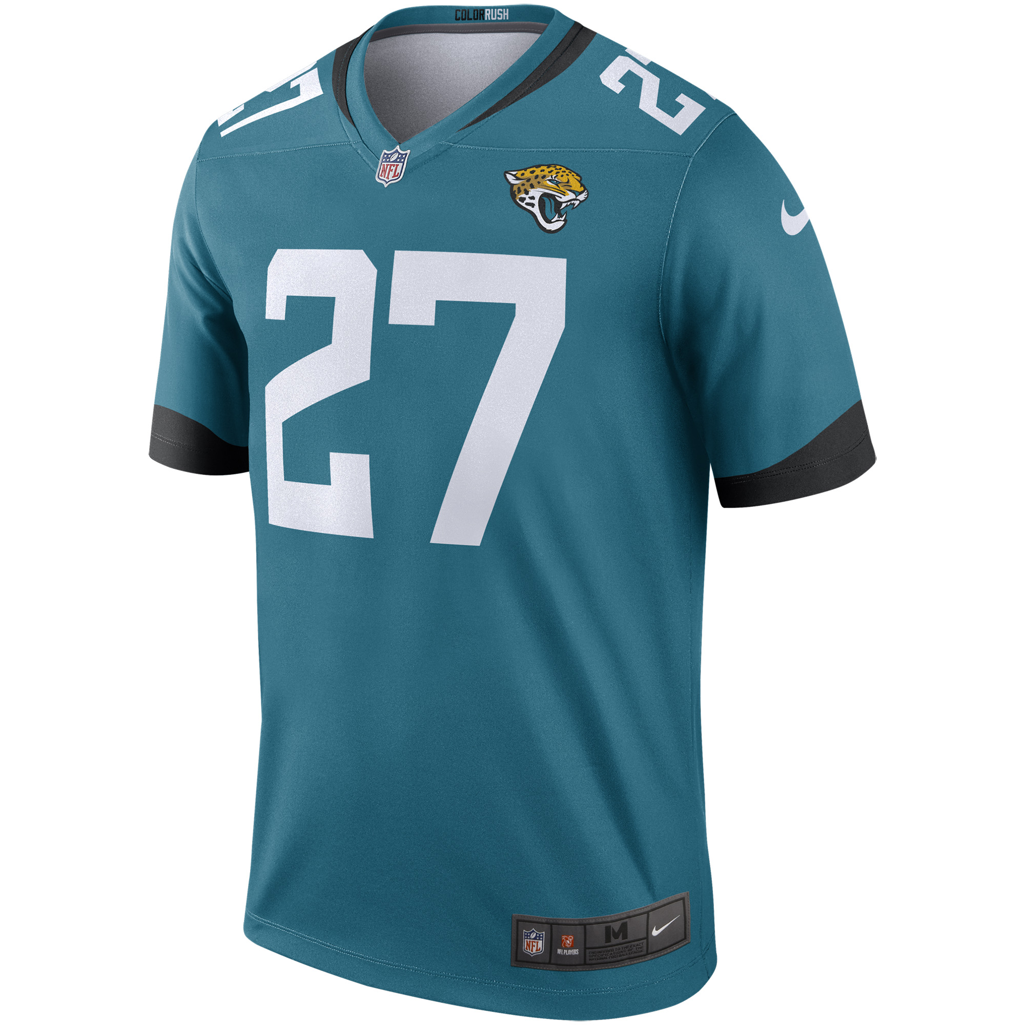 buy popular 5a748 a9b0b Leonard Fournette Nike Jacksonville Jaguars Color Rush Legend Jersey - Teal