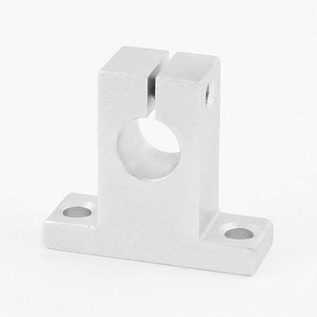 Unique Bargains Silver Tone Alumimum SK12 12mm CNC Pillow Block Bearing Linear Guide Support (Linear Guide Cnc)