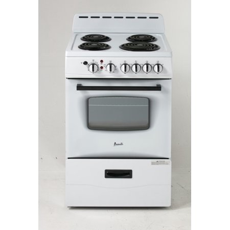 Avanti ER24P0WG White 24 in. Electric Range ()