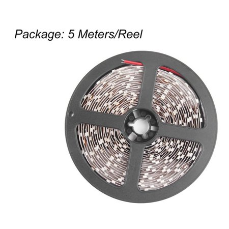 3528 5M SMD Non-Waterproof 300 LEDs Flexible Light LED Sticky Strip Light 12V - image 3 of 6