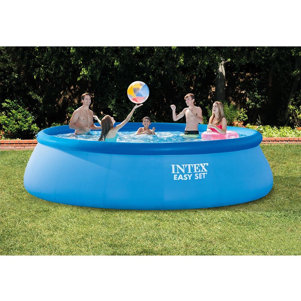 Intex 15 ft. x 42 in. Easy Set Swimming Pool with 1,000 GPH Filter Pump