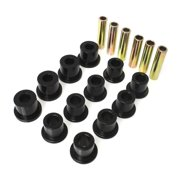 Energy Suspension 87-96 Jeep Wrangler Black Front/Rear Spring and Shackle Bushing