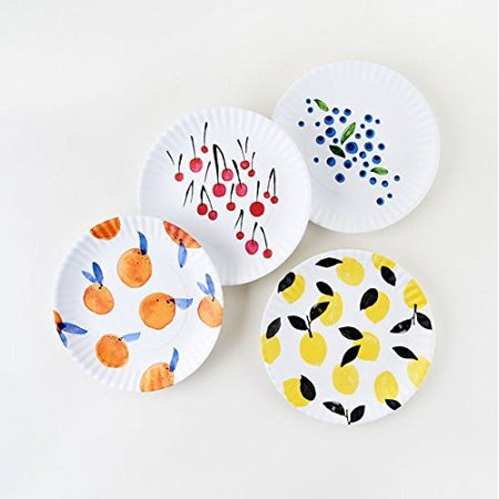 Fruit Plates Designed by Misha Zadeh - 9 inch