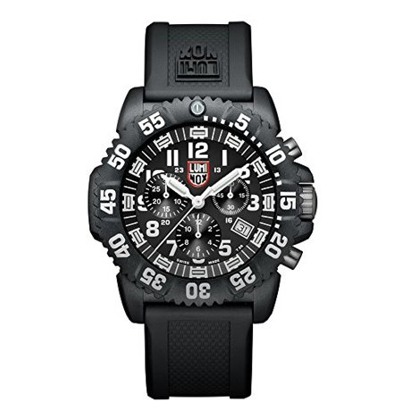 Sea Colormark Chronograph 3080 Men's White Arabic Numerals Watch A.3081 (Arabic Watch)