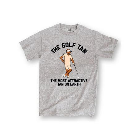 The Golf Tan Most Attractive Funny Golfing Sports Humor Novelty Mens T-Shirt (Humor Golf Shirt)