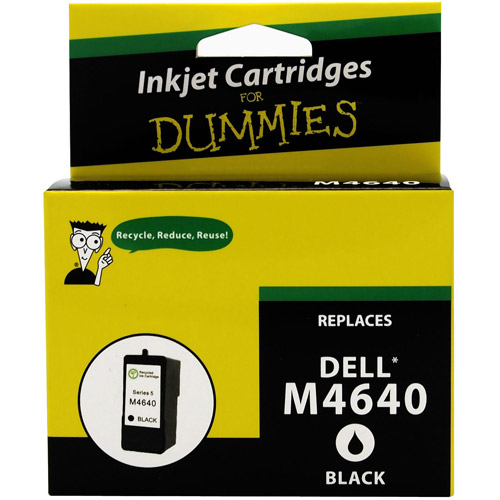 For Dummies - Dell M4640 Black Inkjet Cartridge 922 924 942 944 946 962 964 (5 series), Remanufactured