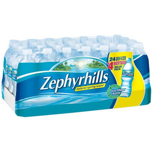 Zephyrhills Natural Spring Water, 28pk