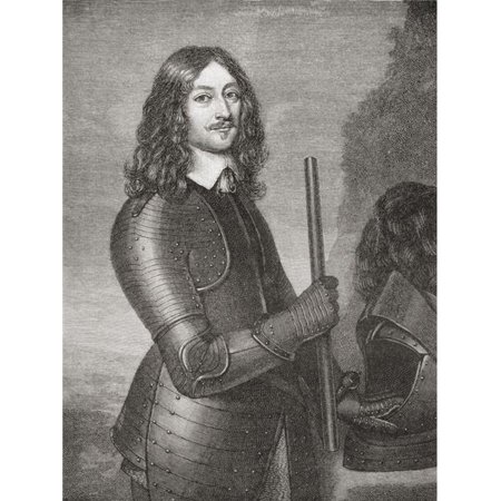Posterazzi  James Graham, 1st Marquess of Montrose, 1612 to 1650 Scottish Nobleman & Soldier From The Book Short History of The English People by J.R. Green Published London 1893 Poster