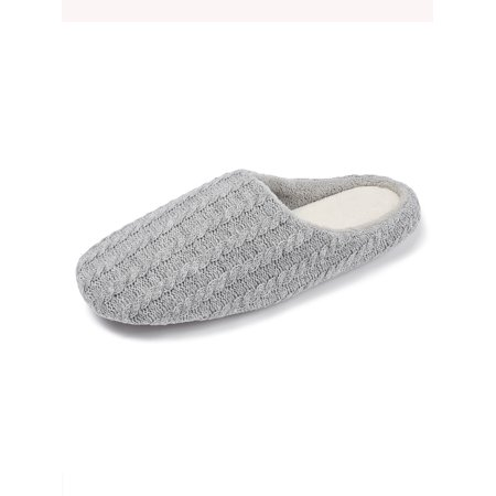 FLORATA Womens Indoor Slippers Memory Foam Shoes Soft Sole House Slipper Flat Shoes Winter Warm (Slipper Memory Foam Women)