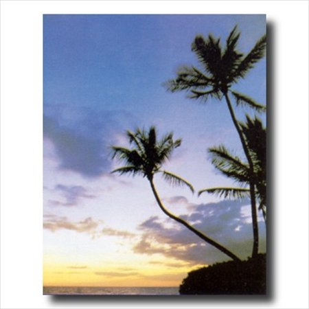 Hawaiian Ocean Beach Sunset Wall Picture Art Print Ocean Sunset Pictures
