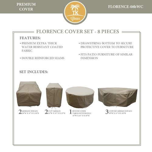 TK Classics Florence 8 Piece Cover Set