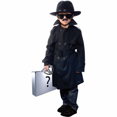 Secret Agent Halloween Costume Women (Jr. Secret Agent Child Halloween)