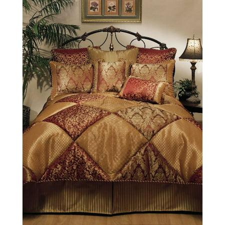 Sherry Kline 8-Piece Chateau Royale Comforter Set, Queen