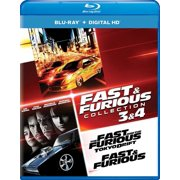Fast & Furious Collection: 3 & 4 (Blu-ray + Digital Copy)