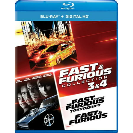 fast furious collection 3 4 blu ray digital copy. Black Bedroom Furniture Sets. Home Design Ideas