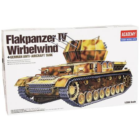 Anti Aircraft Tank (13236 1/35 Flakpanzer IV Wirbelwind Quad 20mm Tank, Academy German Anti-Aircraft Tank - Flakpanzer IV Wirbelwind By Academy Plastic Ship from US)