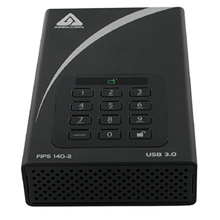 6Tb Aegis Padlock Dt Secure Usb 3 0 256Bit Aes Hw Encrypt Fips
