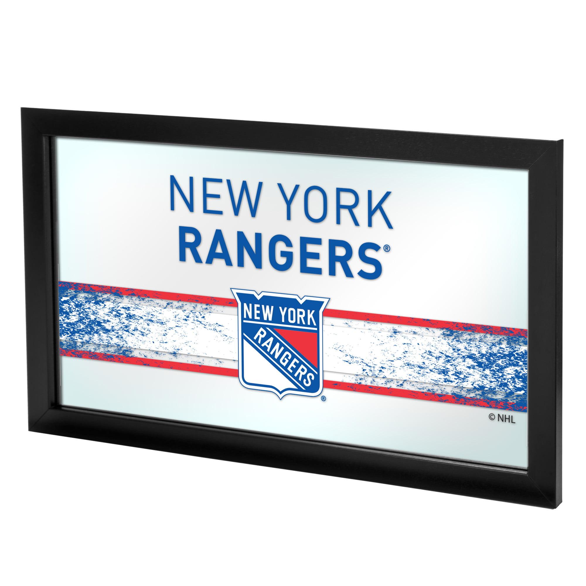 NHL Framed Logo Mirror, New York Rangers