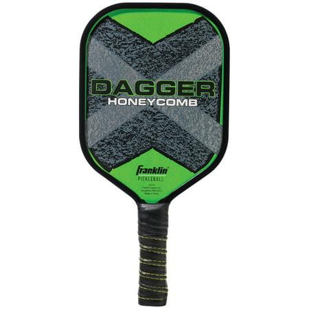 Franklin Sports Dagger Graphite Pickleball Paddle Carbon Graphite Tennis Racquet