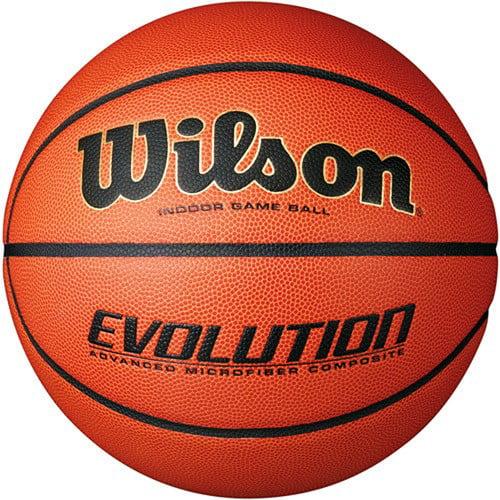 Wilson Evolution Indoor Game Basketball, Orange by Wilson Sporting Goods