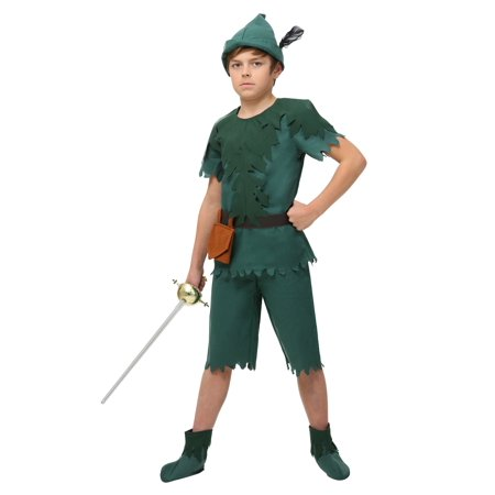 Peter Pan Kid Costume (Child Peter Pan Costume)