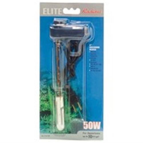 Elite Compact Radiant Aquarium Heater, 50-Watt