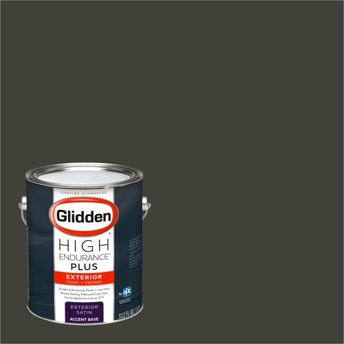 Glidden High Endurance Plus Exterior Paint and Primer, Deepest Earth Green, #30YY 07/041