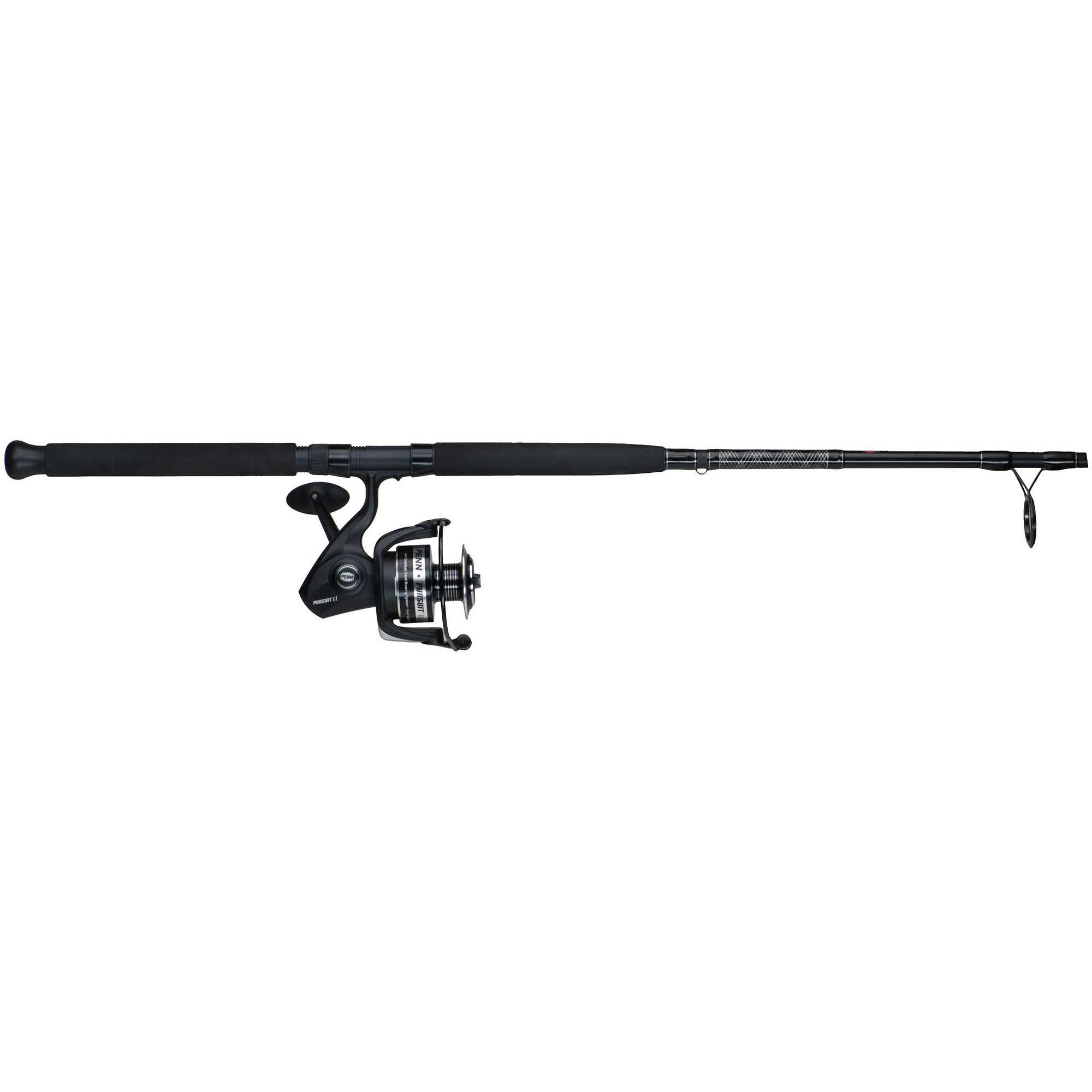 Click here to buy Penn Pursuit II Spinning Reel and Fishing Rod Combo by Penn.
