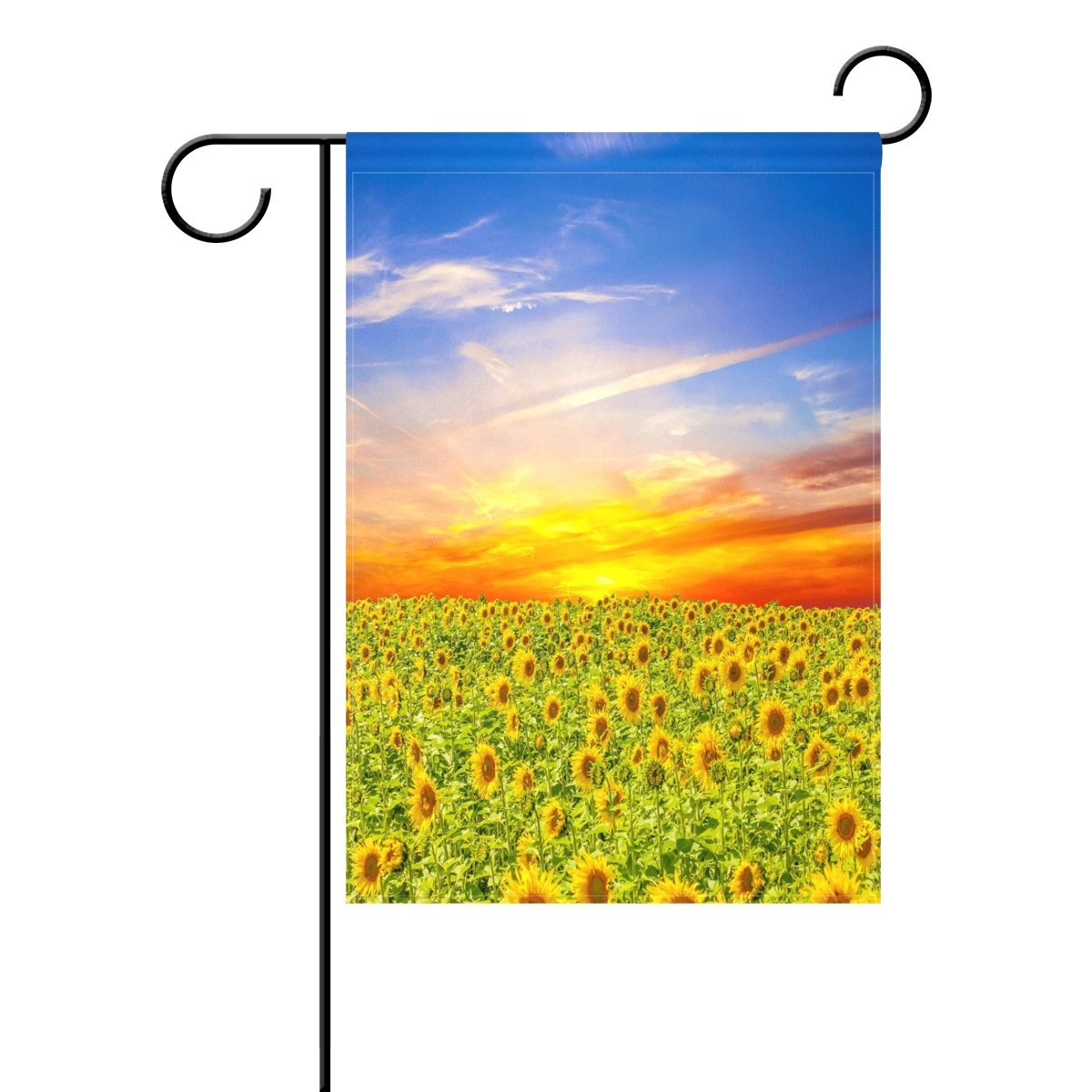 POPCreation Summer Sunny Sunflower Garden Flag Beautiful Lanscape Outdoor  Flag Home Party 12x18 Inches   Walmart.com