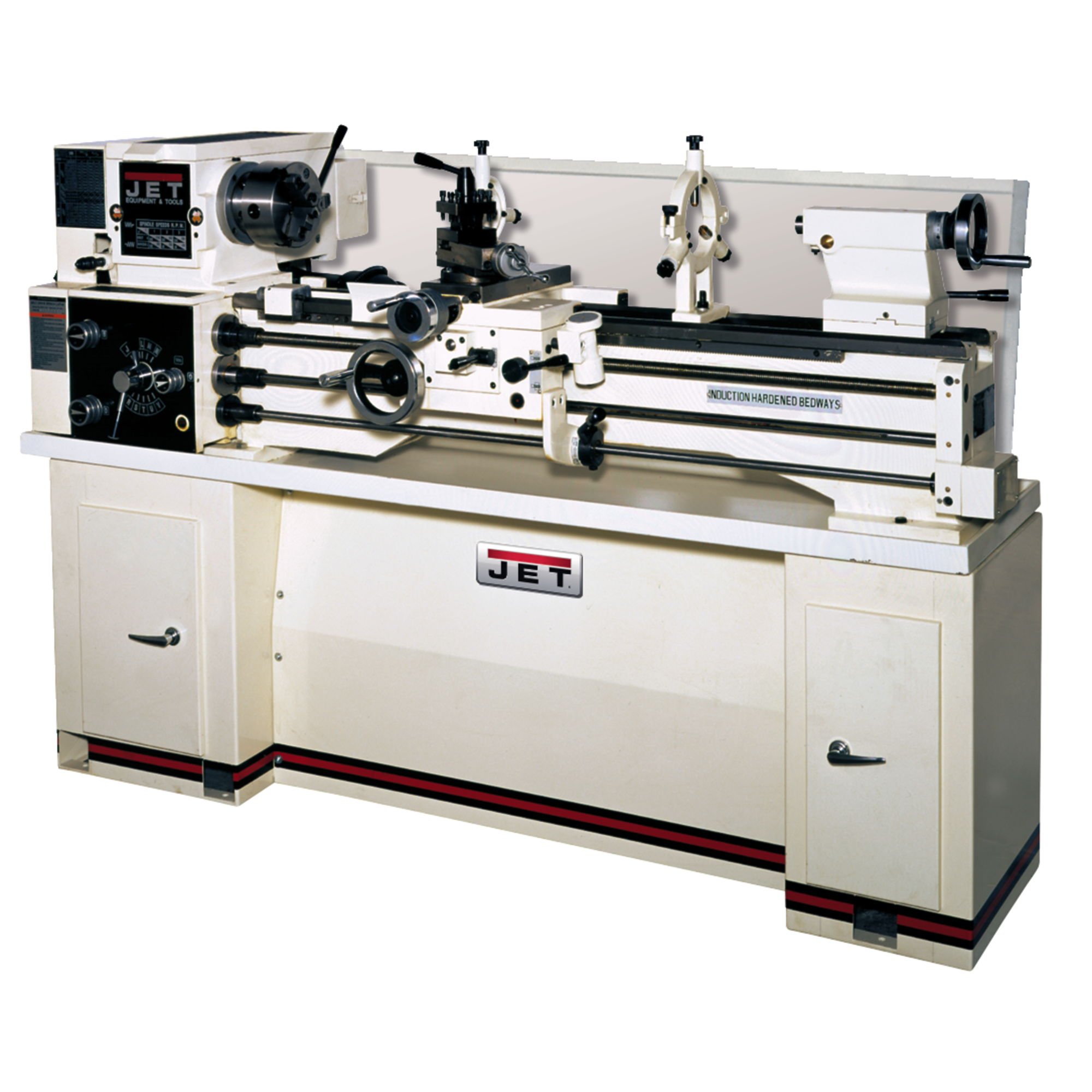 Jet 321130 BDB-1340A Lathe with NEWALL DP700 DRO Installed