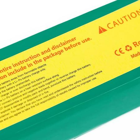 ACEHE 11.1V 2200mAh 75C 3S1P 24.42WH Capacity High Rate Lipo RC Battery - image 2 de 4