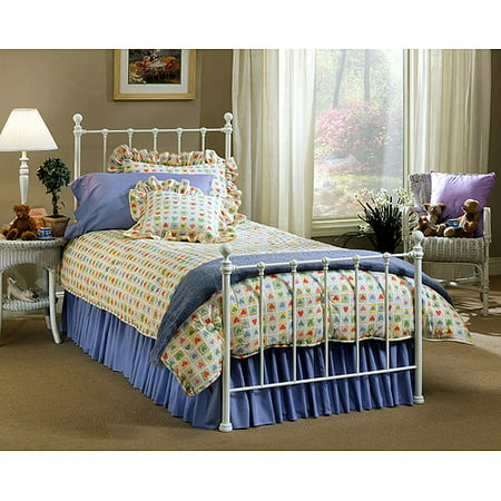 hillsdale molly twin bed with bed frame white