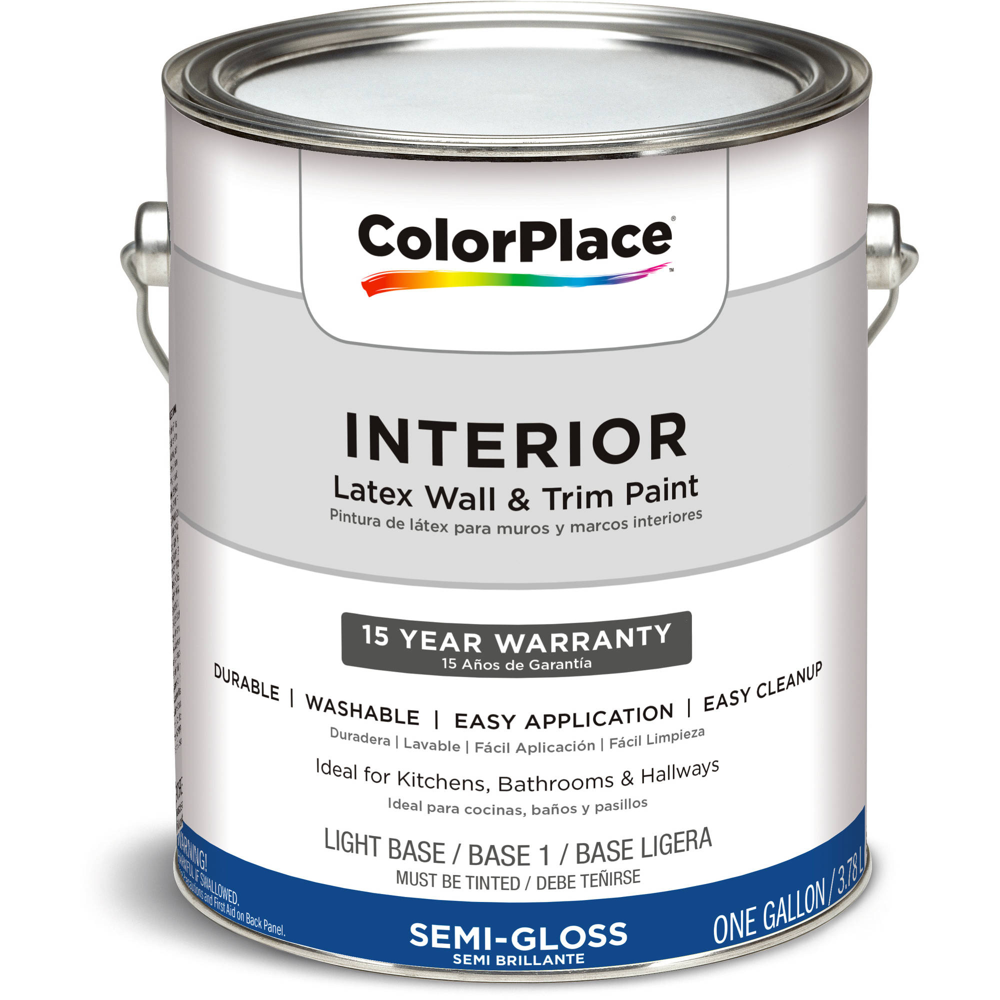 ColorPlace Interior Paint Semi-Gloss LB, 1 gal