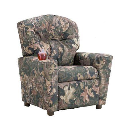 Brazil Furniture Cupholder Childrens Recliner