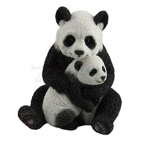Unicorn Sculpture (Unicorn Studios WU77007AA Veronese Design Mother Panda Hugging Cub Sculpture )
