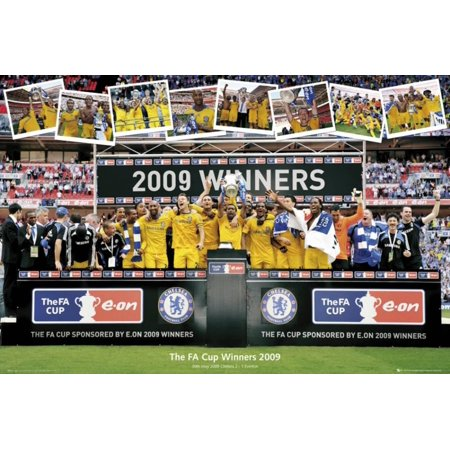 Chelsea - FA Cup Winners 2009 Poster - 36x24