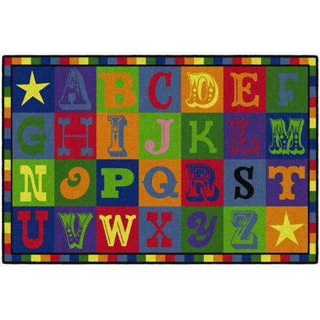 Flagship Carpets CE191-22W Tapis Early Blocks, 4 x 6 pi - Rectangle - image 4 de 4