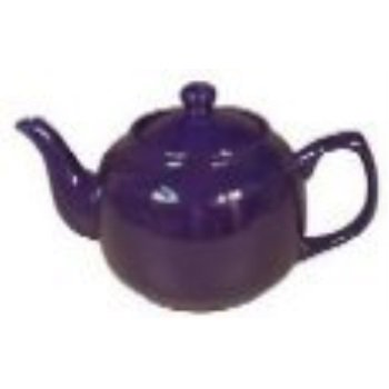 Ceramic Royal Blue Classic 2 Cup Teapot