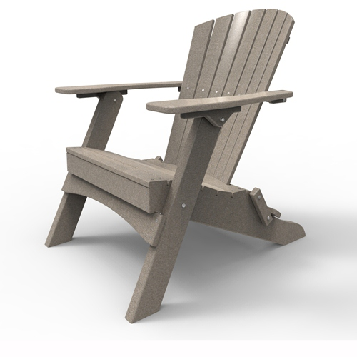Folding Adirondack Chair by Malibu Outdoor - Hyannis, Sand