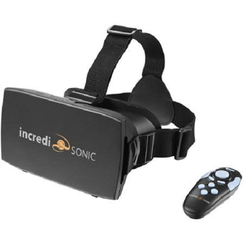 Refurbished IncrediSonic M700 3D VR Headset 3D Glasses & Bluetooth Gaming Controller