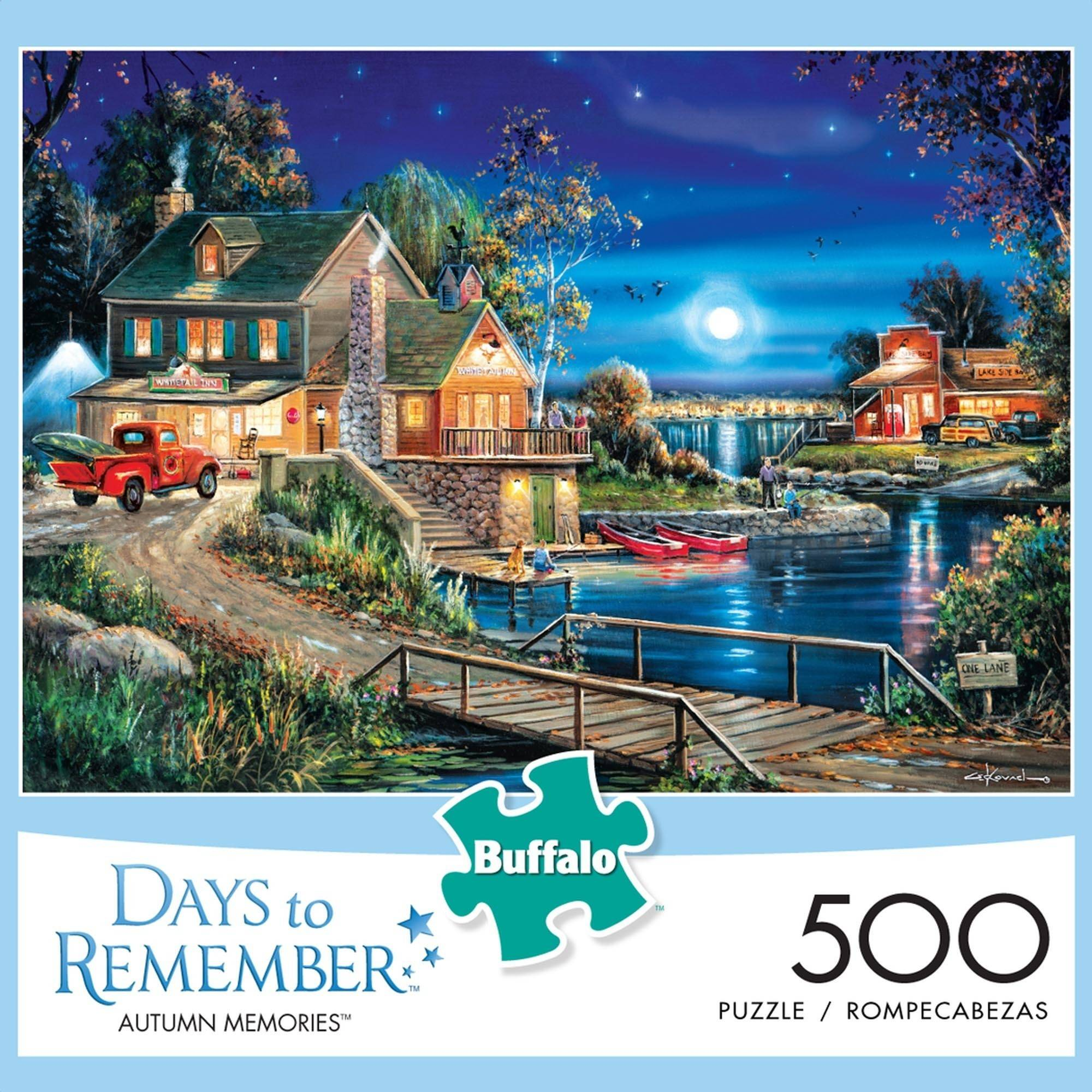 500-Piece Days to Remember: Autumn Memories Puzzle by Buffalo Games