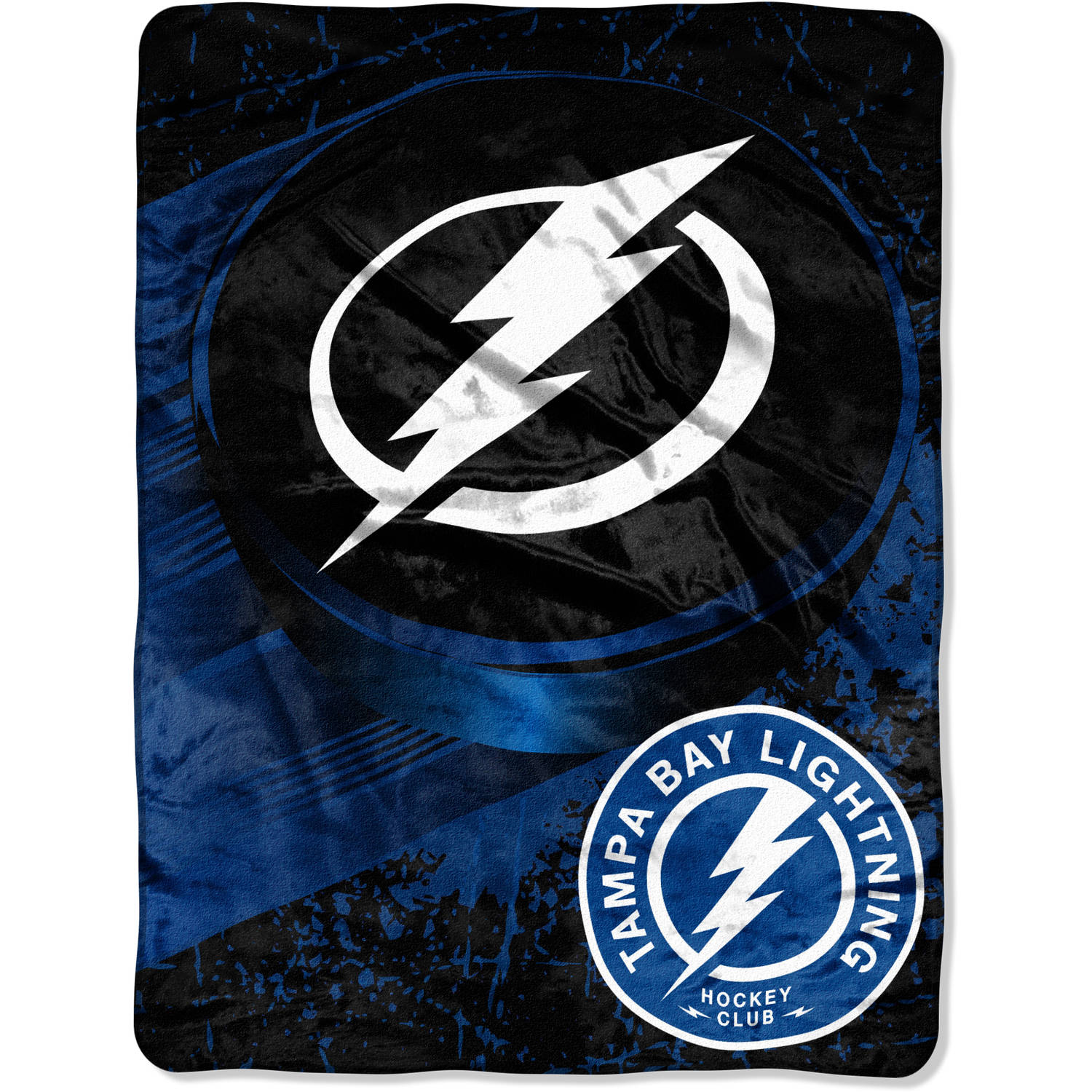 "NHL Tampa Bay Lightning ""Ice Dash"" 46"" x 60"" Micro Raschel Throw"