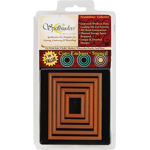 Spellbinders Nestabilities Dies-Classic Rectangle, Large - 5