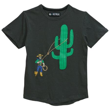 Boys' Short Sleeve Cowboy Laso Graphic - Cowboys Items